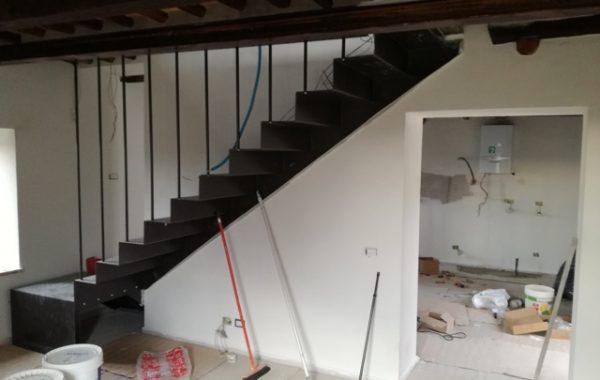 Progettazione di scale in ferro