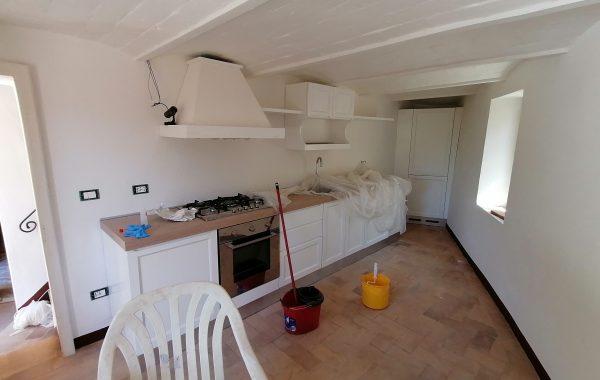 Ristrutturazione appartamento Castelnuovo dell'Abate